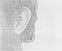 Detail: Untitled (Ear & Coat), 2004